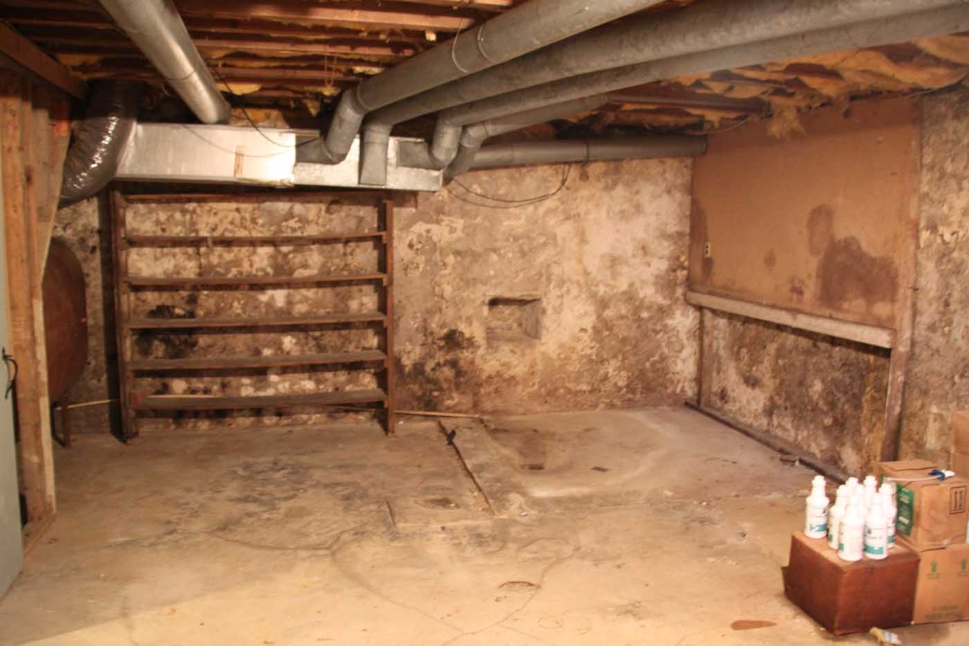 1800 s basement 2 dombach builders for Farmhouse basement