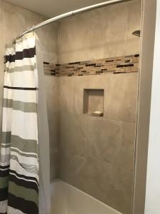 Finish Tile shower